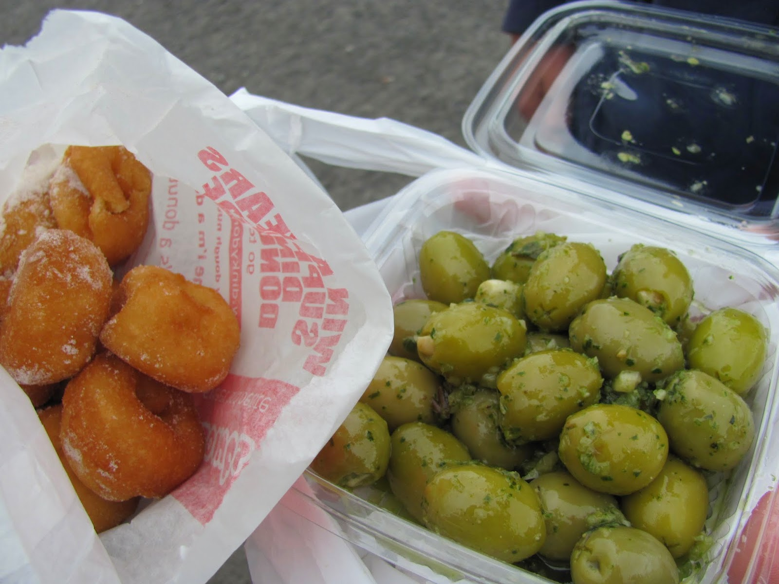 Donuts and Olives