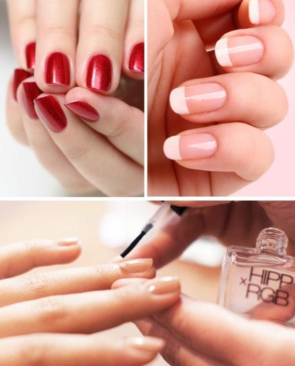 Модный маникюр натуральные ногти
