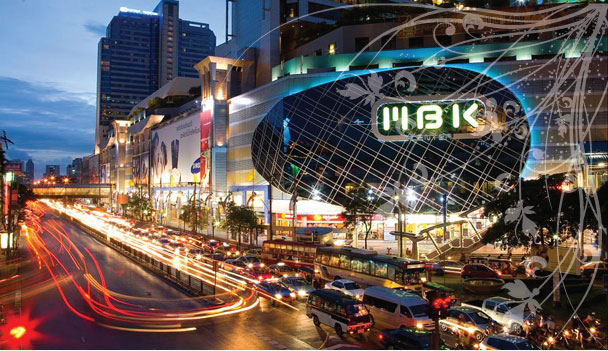 trung tâm mua sắm ở Bangkok Thái Lan