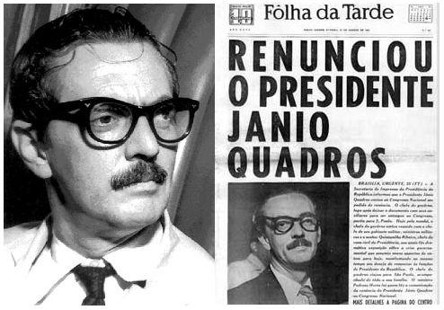 A RENÚNCIA DE JÂNIO, UM ENIGMA DECIFRÁVEL