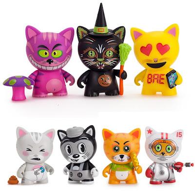 "Tricky Cats 3"" Mini Figure Blind Box Series by Kidrobot"