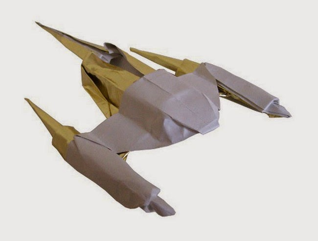Origami Spaceship For Kids