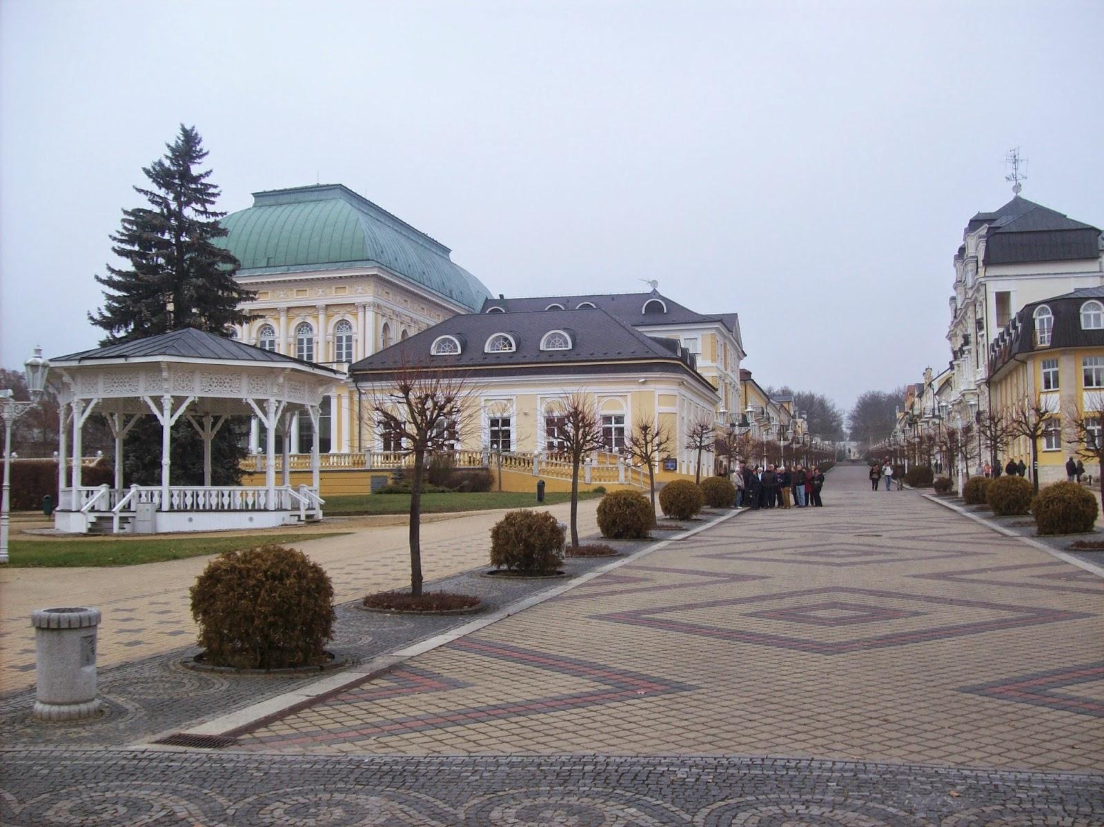 Cidades termais tchecas