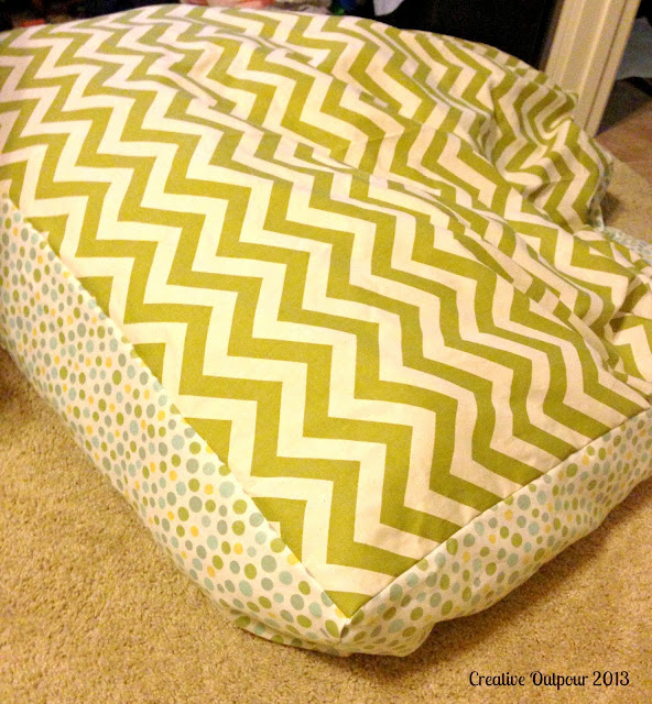 Creative Outpour: Huge Floor Pillows Part One