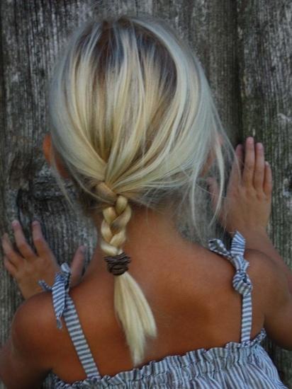 peinados infantiles trenzas