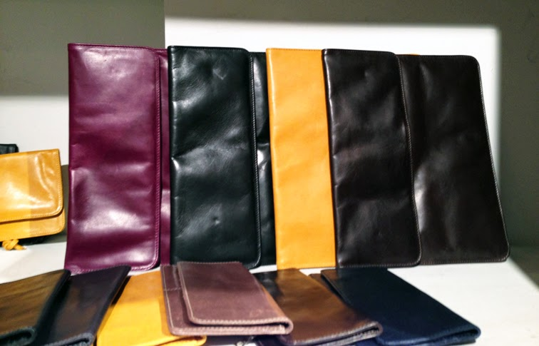m0851 leather envelope clutches fall 2013