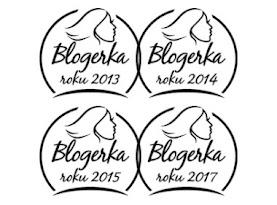 Blogerka roku - 1. místo