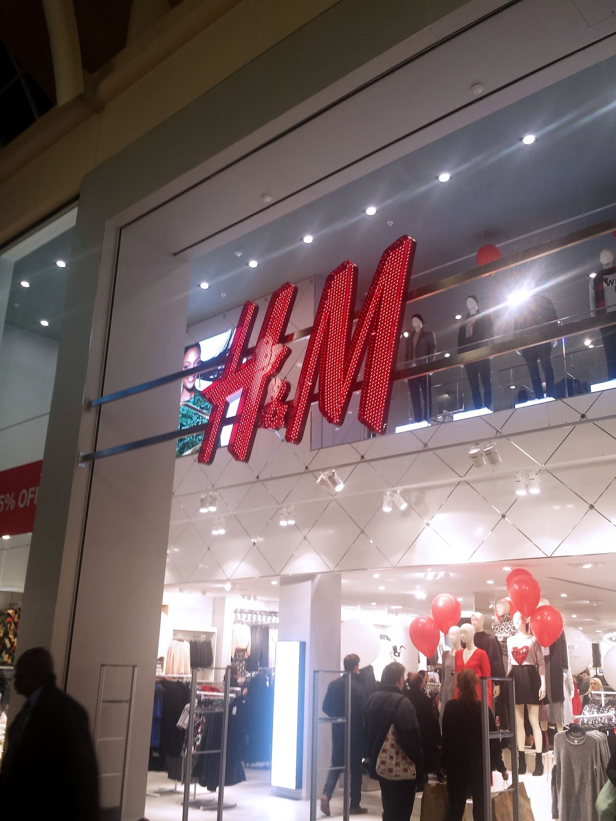 H&M Cardiff Store Launch
