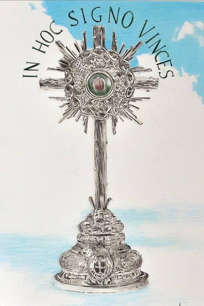 ¡TE ADORAMOS OH CRISTO Y TE BENDECIMOS QUE POR TU SANTA CRUZ REDIMISTE AL MUNDO!