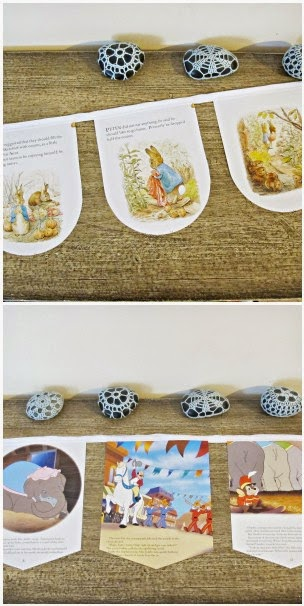 image domum vindemia bunting garland peter rabbit benjamin bunny beatrix potter dumbo the elephant disney
