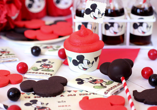 Imprimible gratis Mickey Mouse
