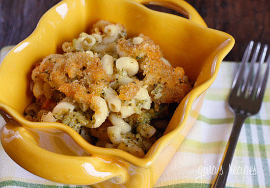 Skinnytaste - Skinny Baked Broccoli Mac and Cheese