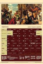 Liturgijski kalendar za 2018. god.