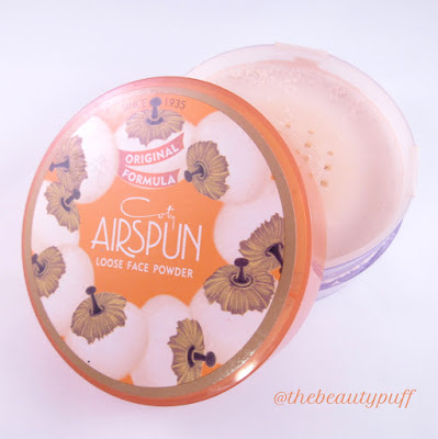 coty airspun loose face powder - the beauty puff