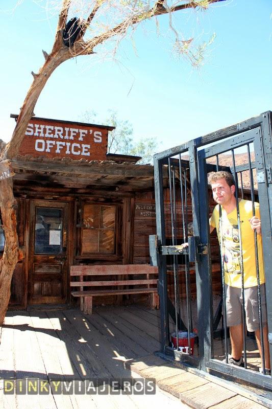 Calico Ghost Town. Oficina del Sheriff