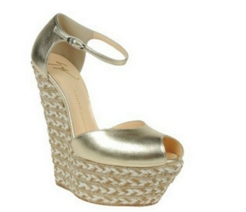 The World Of High Heels: Espadrilles and wedges Giuseppe ...