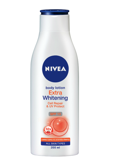Nivea Extra Whitening Cell Repair and UV Protect Body Milk