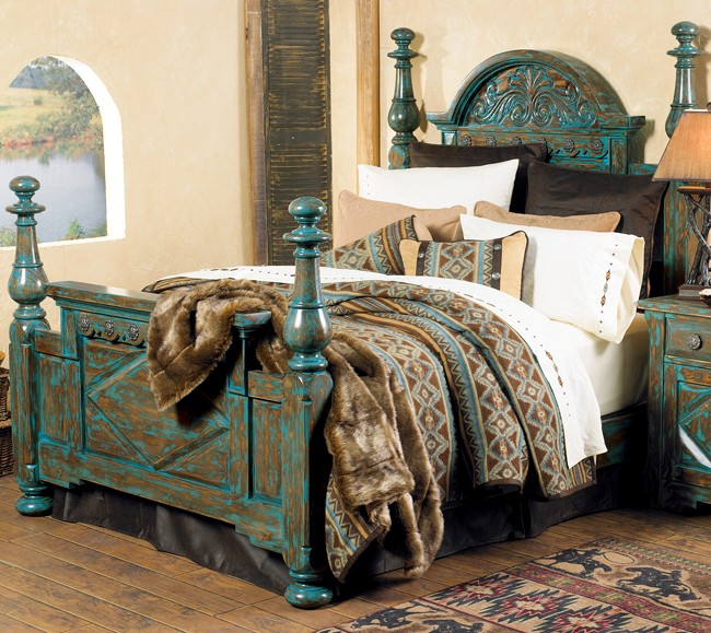 Rustic Chic Turquoise Decorating