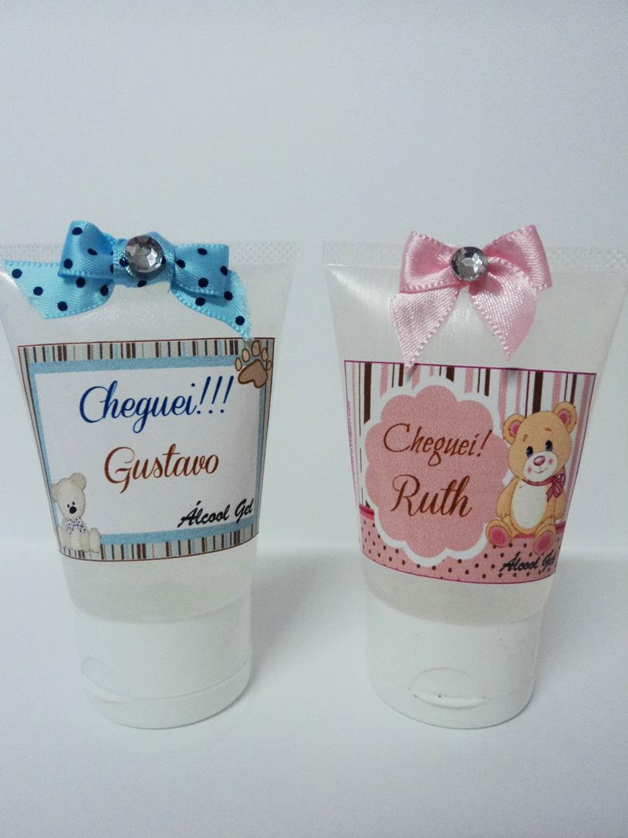 Preferência Patily Biscuit: Álcool Gel Lembrancinhas MV55