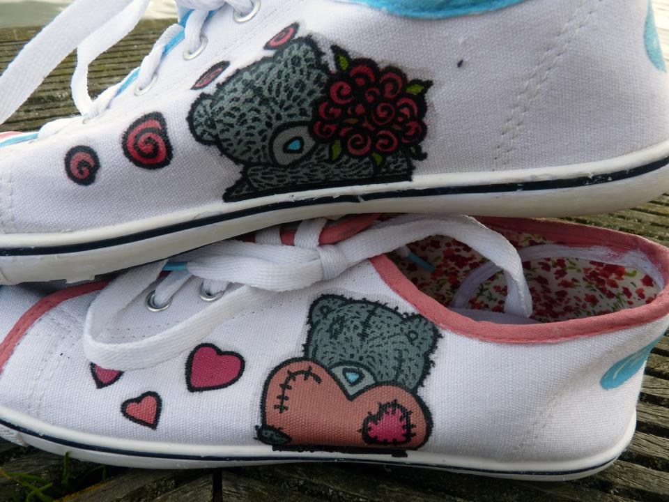 Tatty Teddy sneakers