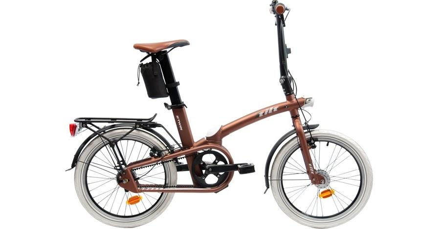 Bici vici nova plegable de decathlon la tilt - Cadenas velo decathlon ...