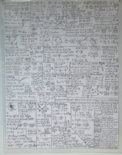 cheat sheet for a chemical engineering course