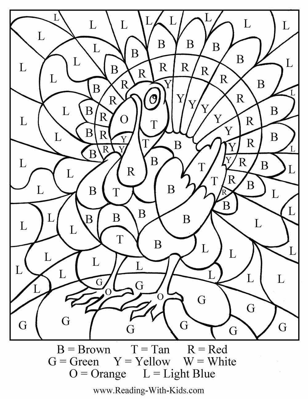 thansgiving printible coloring pages - photo#12