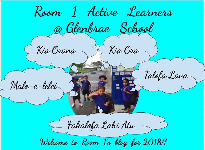 Room 1 Active Learners @ Glenbrae School
