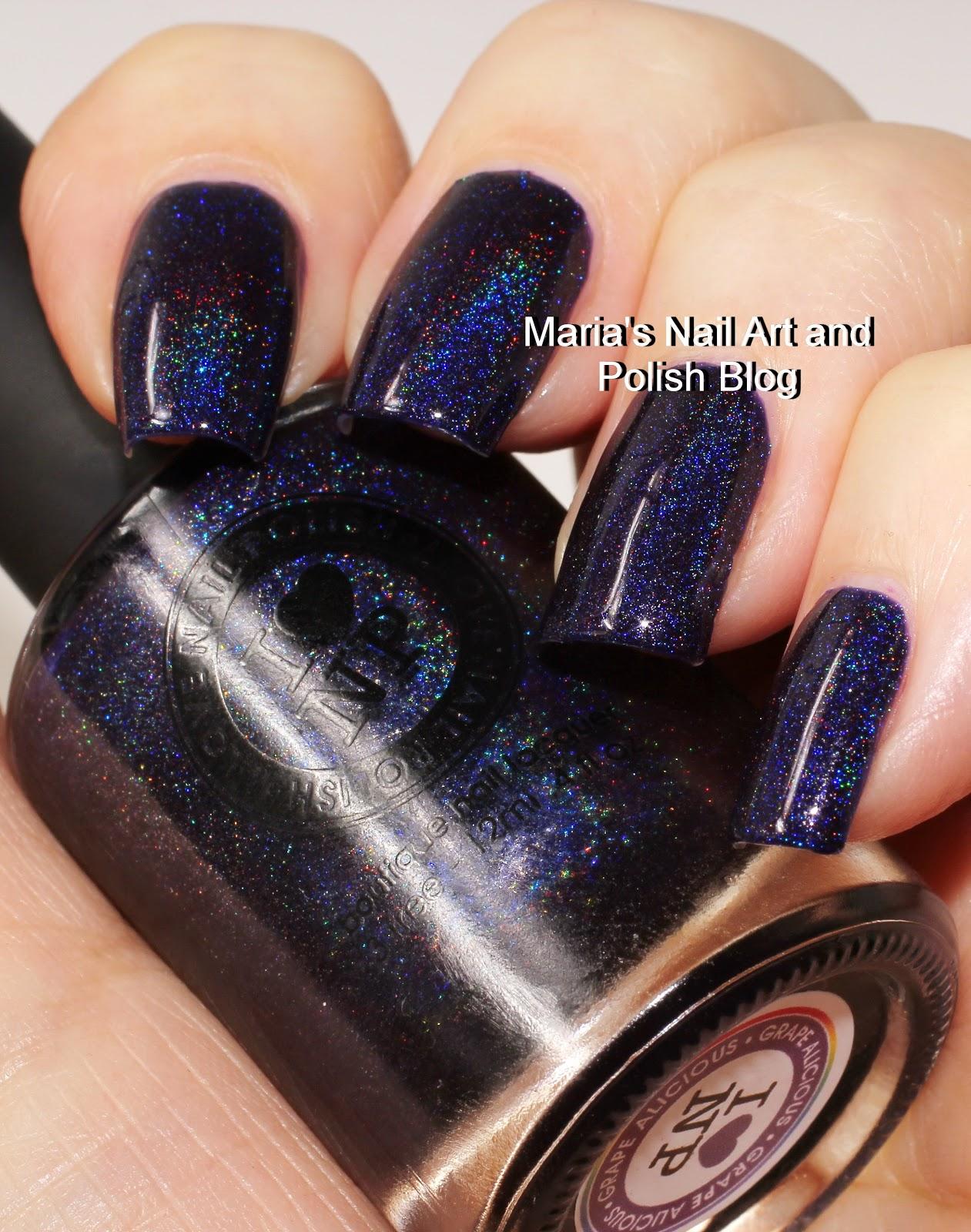 Marias Nail Art and Polish Blog: ILNP (I Love Nail Polish) Grape ...