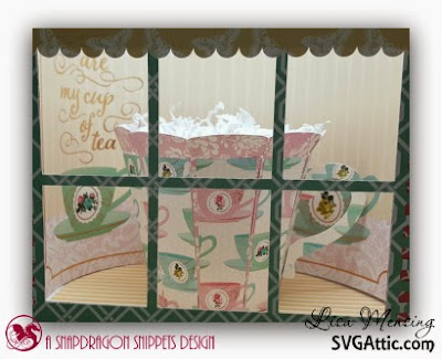SVG Attics Sweet Shop Party Cupcake Holder, SVG Attic's Mom's English Garden