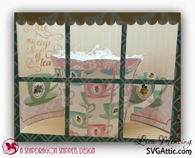 SVG Attics Sweet Shop Party Cupcake Holder, SVG Attic's Mom's English Garden