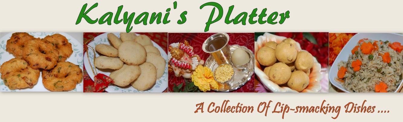 Kalyani's Platter