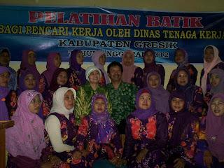 Desa Botoyo Sentra Batik Gresik