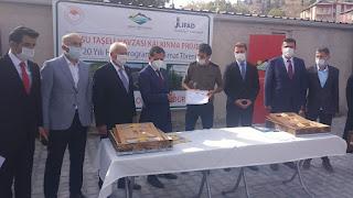 Bozkır'da 133 Üretici ve bir kooperatif desteklemelerini etkinlikle teslim aldı.