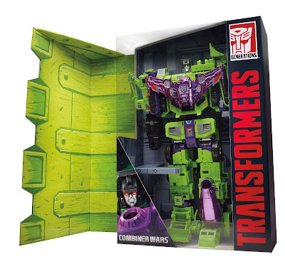 San Diego Comic-Con 2015 Exclusive Transformers Devastator Box Set by Hasbro