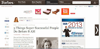 5-things-super-successful-people-do-before-8-am