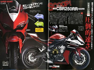 Selain CBR250RR, Di Tahun 2016 Honda Juga akan Siapkan CBR350RR