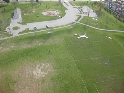 Photo from my kite and 200 feet, KAP, kite aerial photography