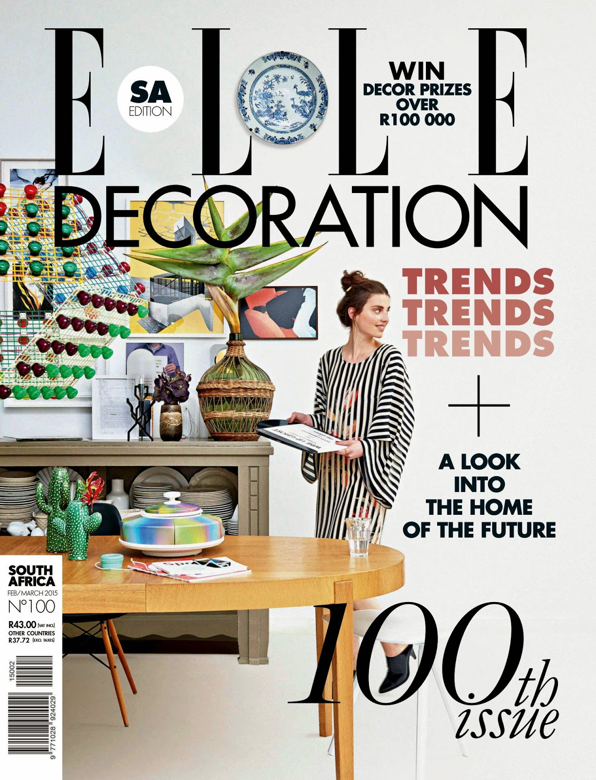 Elle Decoration South Africa - February-March 2015