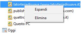 come eliminare singolo sito da cronologia internet explorer
