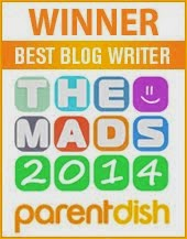 WINNER! 2014 'Best Blog Writer'