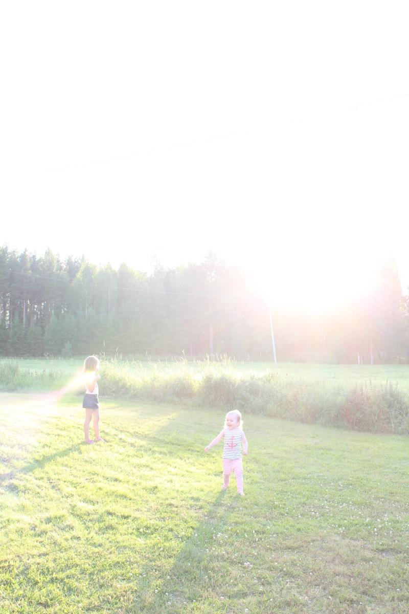 Auringon valo