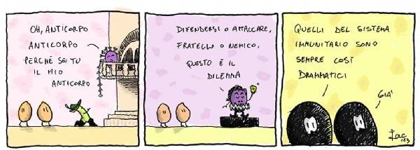 AIRC anticorpi antitumorali vignetta Iacopo Leardini