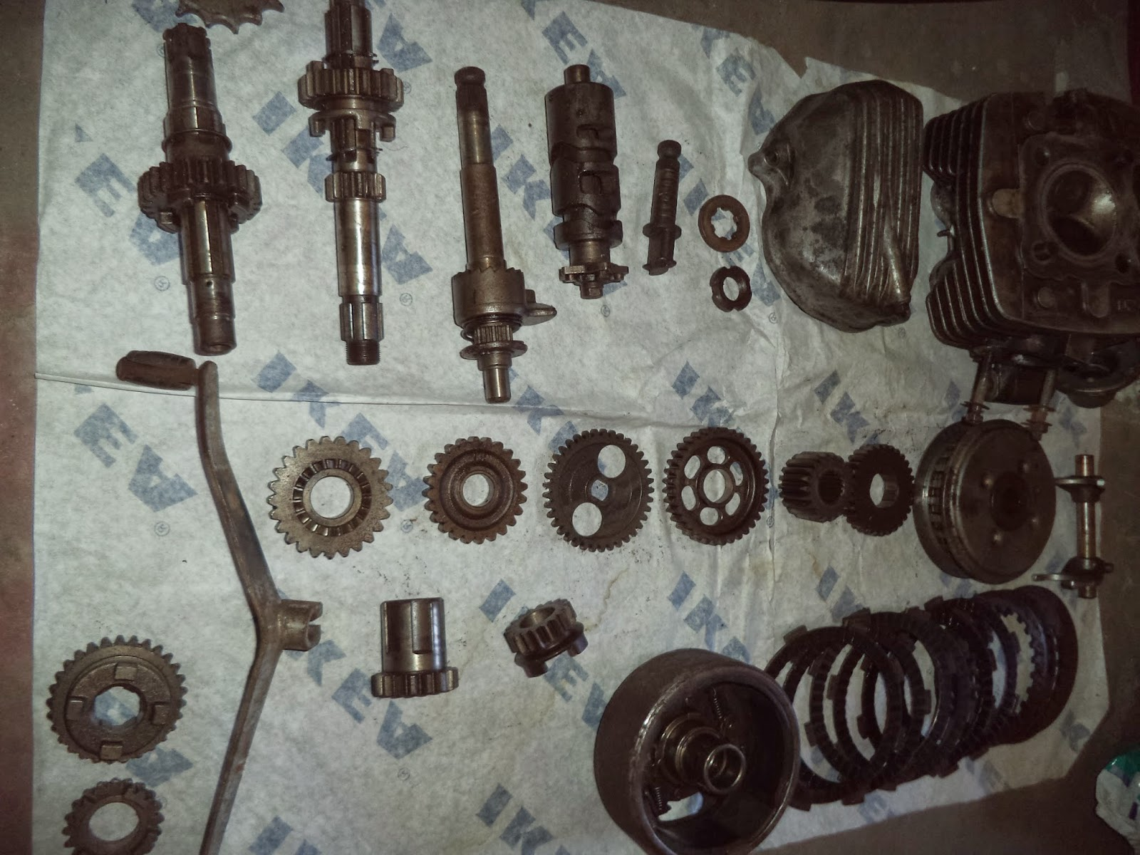 Mga Stock Ko  Tmx 155 Remaining Parts For Sale