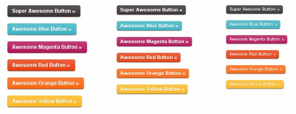 Buttons with CSS3 and RGBA