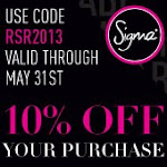 Sigma MAY 10%OFF code