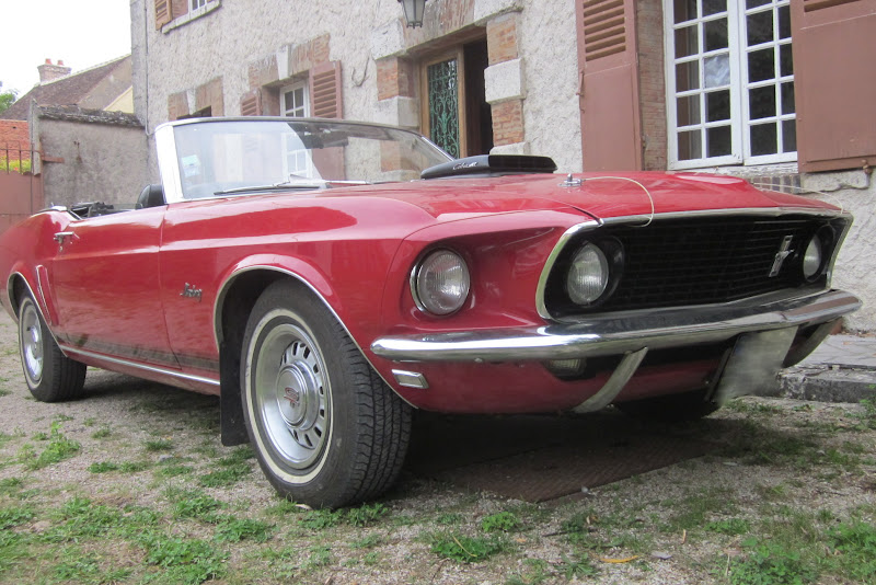 1969 FORD Mustang GT 428 Cobra Jet Ram Air Convertible (CJ R-Code