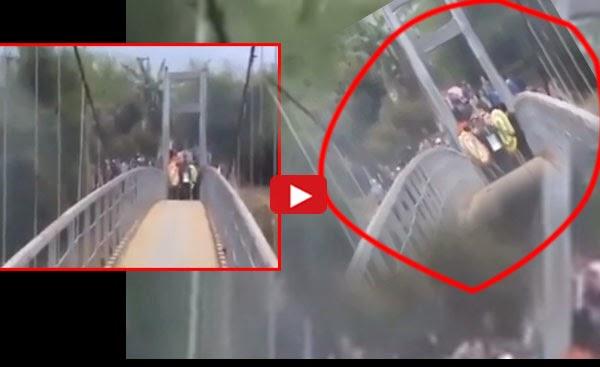 Shocking incident!!!I Solated bridge while Henry... (Video Inside)