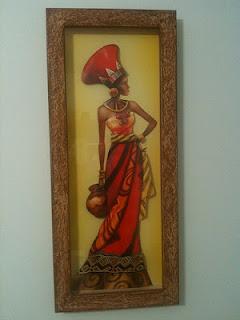 Arte - mulher africana