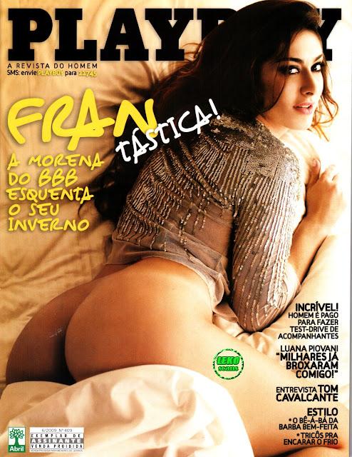 Confira as fotos da morena  gostosa do Big Brother Brasil 9 Francine Piaia, capa da Playboy de junho de 2009!